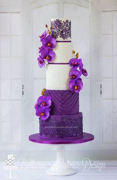 Purple Phalaenopsis!