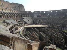 Inside The #Colosseum #Rome, Italy #travel