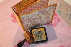 Mini álbum de caja de galletas 20