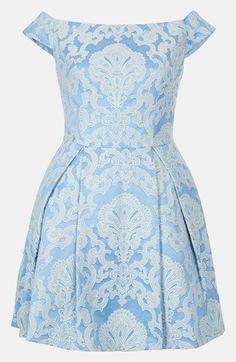Topshop 'Debutante' Off Shoulder Dress | Nordstrom    http://shop.nordstrom.com/s/topshop-debutante-off-shoulder-dress/3517683?origin=category-personalizedsort=0=Blue=1900_sp=personalizedsort-_-browseresults-_-1_4_B
