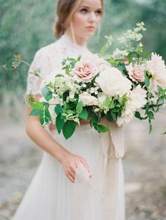 Bridal Bouquet Inspiration | Wedding Sparrow | Plenty of Petals | Photography by Kurt Boomer | Styling by Sarah Park Events | Kurt Boomer Photography
