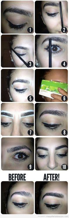 Consejo y trucos para maquillar las cejas #maquillarcejas
