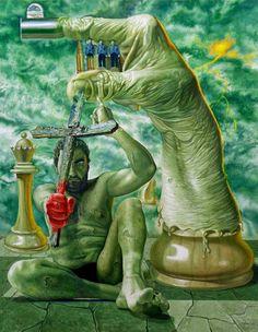 Agim Meta | Spain based Albanian born Surrealist Painter