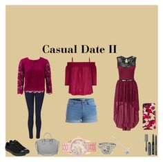 """""""Mauve Date"""" by xtoleap on Polyvore featuring Monsoon, Converse, Bobbi Brown Cosmetics, Pieces, Tiffany & Co., Allurez, Kate Spade, Aéropostale, Givenchy and Miss Selfridge"""