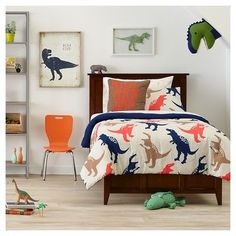 Kids Bedrooms With Dinosaur Themed Wall Art And Murals. Dinosaur Bedroom Themes For Kids Interior Design. Dinosaur Bedroom Themes For Kids Interior Design. Home and Family Big Boy Bedrooms, Kids Bedroom, Bedroom Decor, Kid Rooms, Big Boy Bedroom Ideas, Toddler Boy Bedrooms, 4 Year Old Boy Bedroom, Boys Bunk Bed Room Ideas, Bedroom Furniture