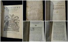Lettioni d'Academici fiorentini sopra Dante – Libro primo – Firenze 1547