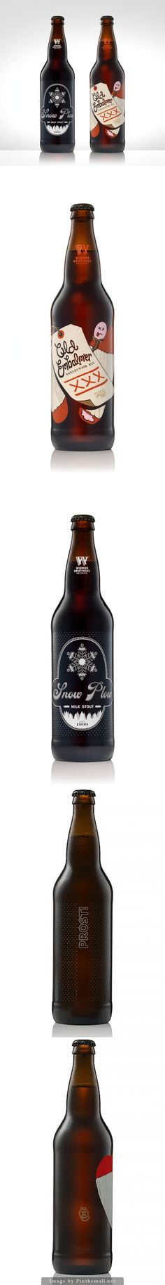 30 Beers for 30 Years - Snow Plow and Old Embalmer on Packaging of the World - Creative Package Design Gallery