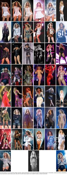 The Mrs. Carter Show World Tour Memories | Part of BEYONCÉ LEGION » COSTUMES