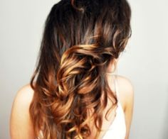 I like the colors of this ombre...