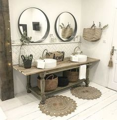Home Interior Contemporary .Home Interior Contemporary Boho Bathroom, Diy Bathroom Decor, Bathroom Interior, Kitchen Decor, Bathroom Small, Kitchen Interior, Bad Inspiration, Bathroom Inspiration, Interior Inspiration