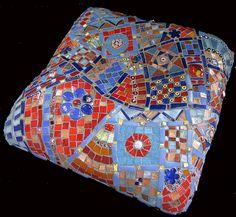 Cushion top   - Angled Shot | by Marian Shapiro - Mosaics