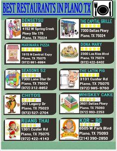 the best restaurants in Plano Texas