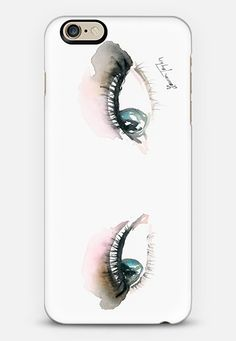 iPhone Case with my/tudor's eyes on it