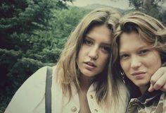 Adele Exarchopoulos & Lea Seydoux