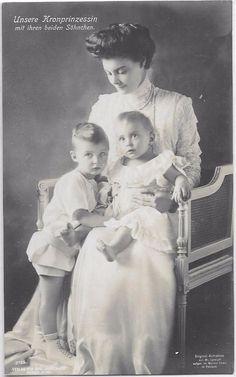 Princess Cecilie of Prussia, Duchess Mecklenburg Schwerin