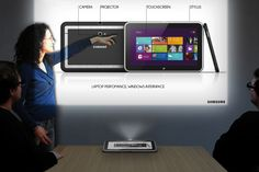 Samsung Galaxy One Tablet Projector Concept