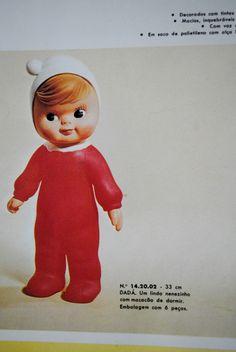 Dada - 1973 Ana Caldatto : Antiga Boneca Dadá, Dedé, Dadinha e Sinhazinha da Estrela - Vinil