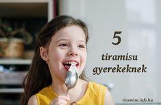 5 tiramisu gyerekeknek