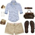 Such a cute summer outfit (or, here in FL, spring, or fall, or winter...)