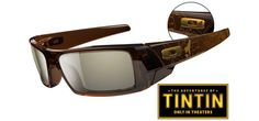 Oakley Limited Edition The Adventures of Tintin Gascan Sunglasses, (oakley, passive polarized) Oakley Glasses, Cool Sunglasses, My Friend, 3d, My Style, Stuff To Buy, Shoes, Nice, Products
