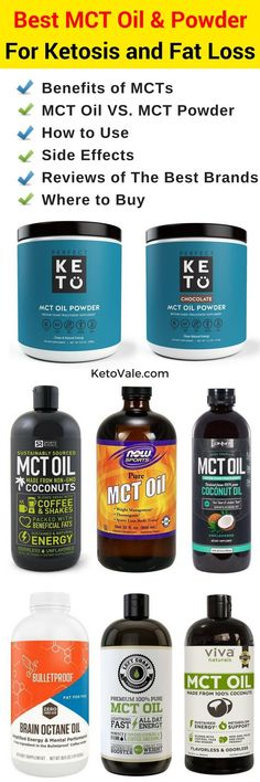 Best MCT Oil and Powder For Increased Energy, Mental Clarity, Ketosis and Weight Loss