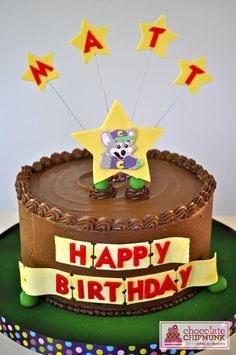 Chuck E Cheese Birthday Cake Kids Birthday Party Ideas