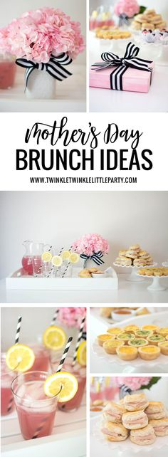 Mother's Day is around the corner and I have some easy brunch ideas and a sweet giveaway for you! I designed this simple invitation, which will be available in our Etsy shop. It can be custom…