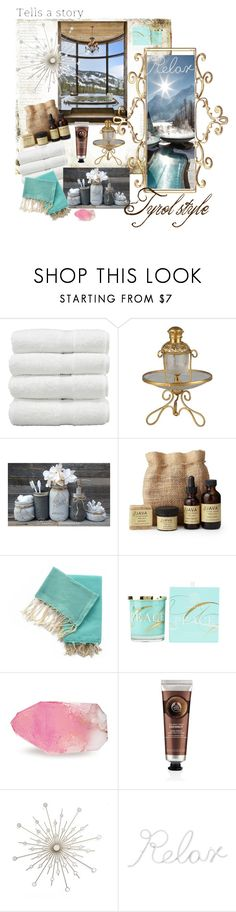 """Tyrol style"" by monejka ❤ liked on Polyvore featuring interior, interiors, interior design, home, home decor, interior decorating, SkinCare, Jayson Home, AMOUAGE and SoapRocks"