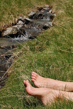 Running water...so relaxing