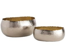 ALESSANDRIA OVAL CONTAINERS (SET OF 2), In Stock, Arteriors
