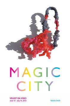 "Magic City is coming...  June 12 — July 14, 2013    Farrah Al-Dujaili, Emily Bullock, Lydia Feast, Christine Graf, Nanna Grønborg, I Ting (Heather) Ho, Zita Hsu, Christiana Joeckel, Lisa Juen, Yi (Roger) Liu, Katharina Moch, Kathryn Partington, Jo Pond, Fliss Quick, Xiaohan (Vincent) Ren, Natalie Smith, Li-Chu Wu, Wen-Miao Yeh    [Natalie Smith ""When"" brooch]  - - X"