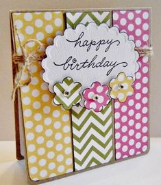 32 Handmade Birthday Card Ideas for the Closest People Around You