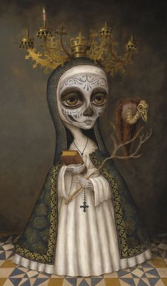 Our Lady of Merciful Fate, by Brandon Maldonado http://www.brandonmaldonado.com/