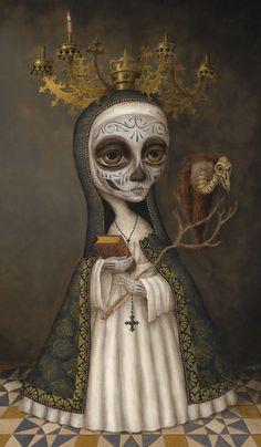 Our Lady of Merciful Fate, by Brandon Maldonado http://www.brandonmaldonado.com/