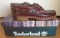 Vendo #Timberland da #barca Heritage 50009 #boat modello 3 eyes nuove colore bordeaux, Made in USA anni 80 seconda serie, misura uomo 6M US / 38.5 EU con scatola, velina e cartolina interna originali  #scarpe #uomo   #shoes  #men #moda  #paninaro   #paninari   #anni80   #80s   #fashion   #cool   #trendy   #abbigliameno  #casual #madeinusa