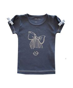 Love this Blue Bow Tee by Eva & Oli on #zulily! #zulilyfinds