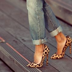 Fall Trends: Animal Print Pumps