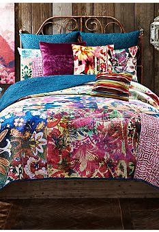 teen vogue folksy floral comforter set | bedroom ideas | pinterest