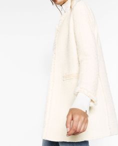 FRAYED FROCK COAT-View all-OUTERWEAR-WOMAN | ZARA United States
