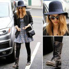 Best Celebrity Street Style of 2012: Jessica Alba