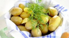 Täydelliset uudet perunat