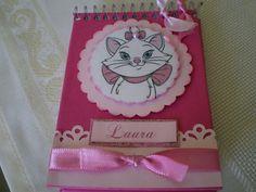 bloquinho de anotação tema gatinha marie