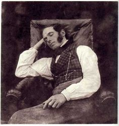 William Henry Fox Talbot  Nicolaas Henneman, Asleep  c. 1844-45