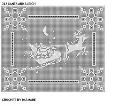 How to Graph a Pattern for a Filet Crochet