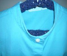 Change a Shirt Collar Into a Mandarin Collar With NO Sewing