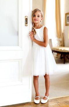 Mädchen Exklusive Kleid Sly Kommunion Hochzeit Freizeit Party Neu Natur Weiß | Kleidung & Accessoires, Kindermode, Schuhe & Access., Mode für Mädchen | eBay!