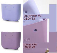 """Fullspot O bag """"Lavender"""" vs """"Lavender 50"""" body"""
