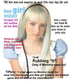 Boy Becomes Sissy Girl Captions | Boy-Girl weekly!