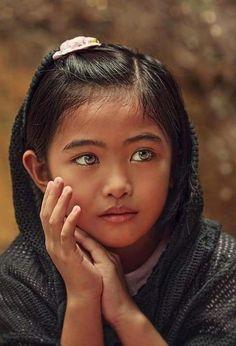 Es la niña mas bella que jamás he visto en mi vida .