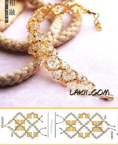 Beads bracelet PATTERN Lakii 1